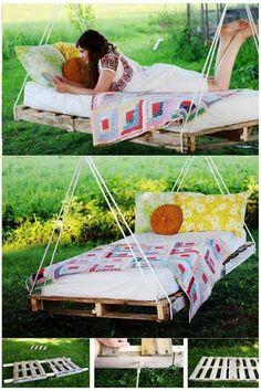Pallet swing bed!!!!!!!