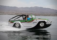 Water car Panther Amphibious Jeep.