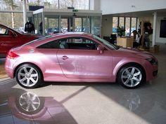 Pink Audi? Uh yezzir