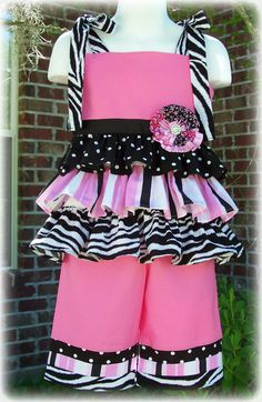 Custom Boutique Clothing Girls Ruffled Spring by sewsweetsmocking, $45.00 This is too cute!!!