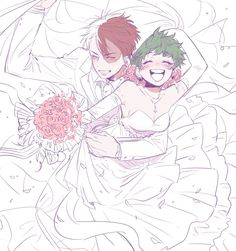 Todoroki Shouto × [Genderbend] Midoriya Izuku
