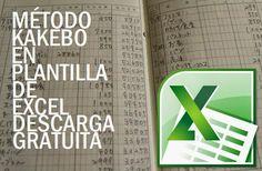 Descarga gratis el Excel basado en el método Kakebo