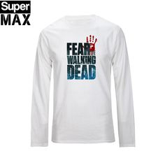 The walking dead T Shirt - Long Sleeve O-Neck Cotton Tees The Walker Store    http://thewalkerstore.com/long-sleeve-o-neck-cotton-tees/