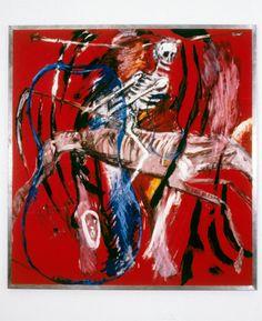 Julian Schnabel: Death (1980).