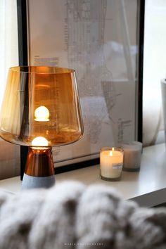 Iittala Lantern. Iittalan sisustusuutuudet vaaleanpunaisessa hirsitalossa - Vaaleanpunainen hirsitalo | Divaaniblogit