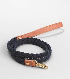 Tory Burch braided dog leash. A mere $95. Haha.