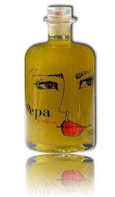 "Pepa y el Olivar es un aceite de oliva virgen extra que se produce en ""Mas Frigol"", una finca que data del 1746 ubicada en el término municipal de Navata, en la comarca de L´Alt Emporda (Girona)"