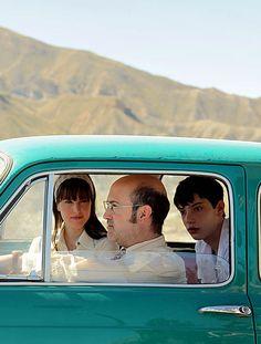 """Javier Cámara, Natalia de Molina y Francesc Colomer en""""Vivir es fácil con los ojos cerrados"""", 2013"""