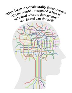 Dr. Bessel van der Kolk is a part of the 2012 Trauma Therapy Training Program. Here's one quote from the interview.