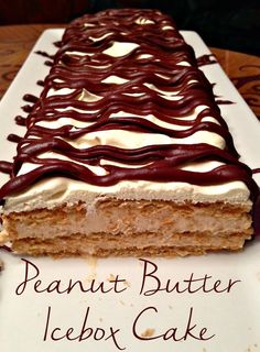 Family Holiday Ideas: Graham Cracker Houses and Peanut Butter Icebox Cake | Simple and wonderful holiday treats!