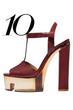 Calvin Klein Collection sandal,   - HarpersBAZAAR.com
