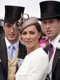 Men in hats as well...