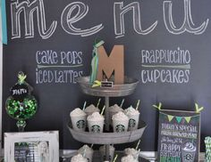 "Starbucks / Birthday ""Frappy Birthday"" 