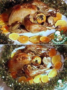 """Индейка """"Рождественская"""" - кулинарный рецепт"""