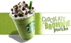 Chocolate Brownie Matcha Frappuccinos return to Starbucks ‹ Japan ...