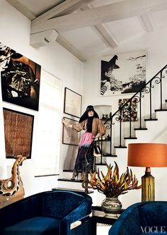 Inside Mario Testino's Hollywood Hills home. Photographed by Mario Testino.