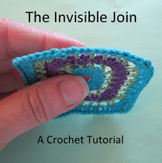Invisible Join - Crochet Tutorial