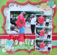 family scrapbook page layouts - Google Search
