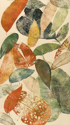 .isis0isis: Autumn leaf I by Mariann Johansen Ellis on Flickr. Plus