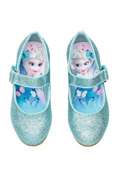 Glittery Dress-up Shoes - Turquoise/Frozen - Kids Kids Toy Shop, Frozen Cupcake Toppers, Disney Princess Toys, Barbie Doll Set, Dress Up Shoes, Frozen Kids, Rum, Disney Shoes, Halloween Costumes For Girls