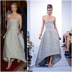 MYROYALS  FASHİON:  Marie Chantal in Oscar de la Renta