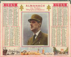 Almanach des Postes 1945
