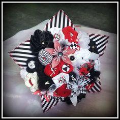 crochet, origami, fleurs en tissu