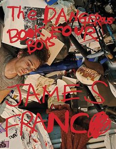 james franco is getting better by the second.