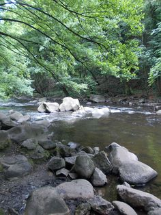 Hiking near water
