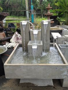 Fuentes on pinterest fuentes de agua water features and for Cascadas modernas para jardin