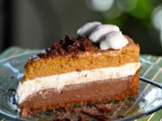 A Delicious Mousse Cake That Is Beyond To Wow Your Family - Chocolate Pumpkin Mousse Cake - Cake Lovers
