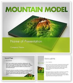 http://www.poweredtemplate.com/11636/0/index.html Mountain Model PowerPoint Template