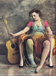 Guinevere Van Seenus Rebel Magazine Spring 2002 Jan Saudek
