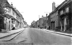 Photo of St Albans, Holywell Hill 1921 from Francis Frith St Albans, Great Britain, Nostalgia, Past, England, Street View, Watford, Memories, Bitter