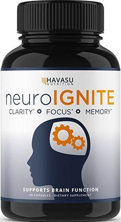 Extra Strength Brain Supplement for Focus, Energy, Memory