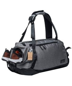 Sports Gym Bag with Shoes Compartment Travel Duffel Bag for Men and Women -  gray - CE18G3W5WEL 57d188d4249c9