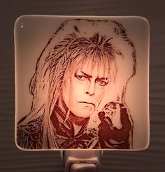 A personal favorite from my Etsy shop https://www.etsy.com/listing/538337355/david-bowie-labryinth-night-light-fused