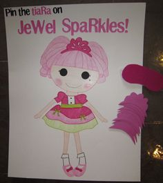 Lalaloopsy Great party game idea