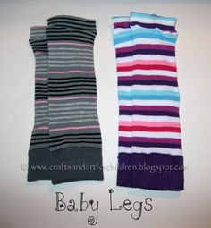 Crafts~N~Things for Children: More DIY Baby Legs!!!