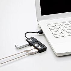 Elecom U2H-YS4B 4-Port USB Hub