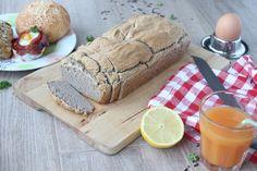 Recept voor sodabrood: snel brood van boekweit, yoghurt en baksoda