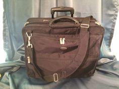 Targus XL Rolling Case Designed for 17-Inch Notebooks, Black #Targus #MessengerBag #Black #Rolling #LaptopCase