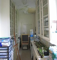 Bartow-Pell Mansion pantry.