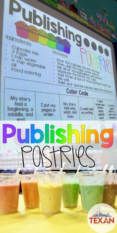 Do you teach a Lucy Caulkins style Writers Workshop?  This publishing party idea aligns perfectly with teaching writing skills to children in Kindergarten up to 4th grade!  Kids will LOVE celebrating the growth of their skills with these fun writing tips!