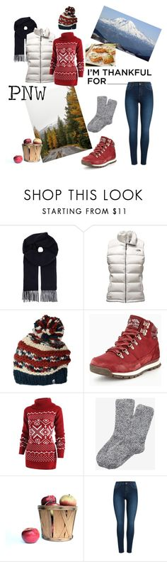 """I'm Thankful For"" by lenamis on Polyvore featuring MaxMara, The North Face, Express and Pieces"