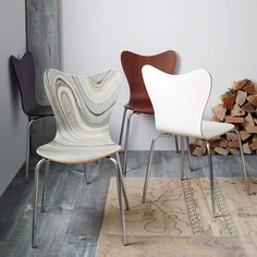 WestElm, on sale until Monday, $316 for set of 4. Scoop-Back Chair