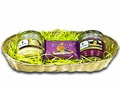 Easter Basket with Mia Bella Candles and a Bella Bar soap.  Easter gift idea for an adult. http://www.bellamiacandle.scent-team.com/products/giftbaskets.php
