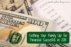 Setting Your Family Up for Financial Success in 2015 + Free Budgeting Printables!  #FinancialPeace #CleverGirls #sp