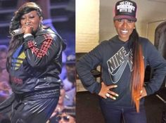 """Missy Elliott lost by FOCUSING and DIGGING freakin' DEEP! She said: """"This time I lost 30 [pounds] eating healthy/work out to Shaun T Focus T25 videos. I do the Insanity workout. Sweets/bread/ fried foods is my weakness. It's not easy but health comes 1st :)"""" Learn more here: http://www.onesteptoweightloss.com/focus-t25-vs-insanity"""