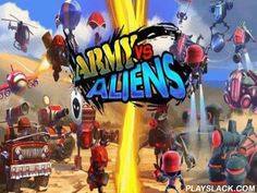 Army Vs Aliens Defense  Android Game - playslack.com , In the game Army Vs Aliens Defense you will get into the deep of competitor of groups and aliens and you will be able to compete for any of the regions.  The game represents a preserver, so there s a work for you to preserve the base from foes who in turn strive to ruin building by means of all accessible qualities:  infantry, military tool and the most different ammunition.  The work is strenuous because you have only a weapon opened…